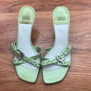Stuart Weitzman Green Heels